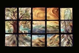 saveenlarge glass tile wall art