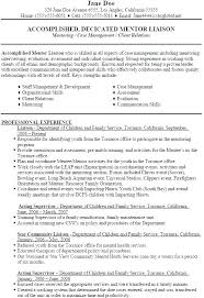 Resume Format For Social Worker Social Worker Resume Samples Free ...