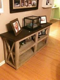 how to build rustic furniture. Table Diy Projects Woodworking Console Home Of Holidays With Pam Rustic Furniture How To Build O