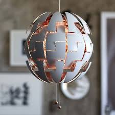ikea ps 2016 pendant lamp chandeliers ceiling light copper