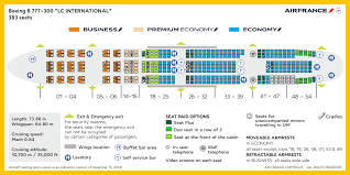 Cabin Layouts Air France
