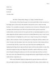 writing process essay as a sense of insight to my main  3 pages composition essay 1