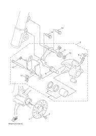 2012 yamaha zuma 50 yw50fbw front brake caliper parts best oem front brake caliper parts diagram for 2012 zuma 50 yw50fbw motorcycles