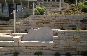 nautral stone retaining walls haley