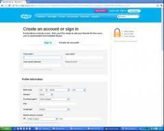 Create Skype Account Skype Sign Up Sign Up Skype To Create Account Free