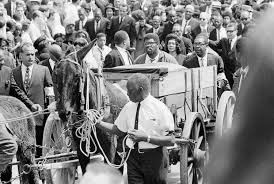 the life and legacy of martin luther king jr shareamerica martin luther king s coffin in wagon amid crowd of mourners in street acirccopy ap images