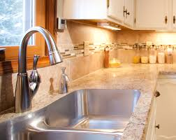 Best Kitchen Sinks And Faucets Kitchen Aluminum Kitchen Faucet Sink With Curvy Faucet On