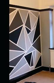 Best tape for walls Painters Tape Geometric Wall Designs With Tape Wall Paint Ideas Best Geometric 40sco Get Here Painters Tape Wall Design Ideas Zacharykristen