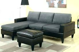 koko microfiber bonded leather sectional reviews faux home improvement astonishing