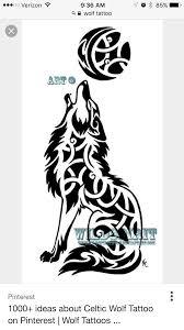 Wolf And Celtic Triquetra Disegni Tatuaggi Tatuaggio Lupo E