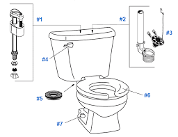 inside parts of a toilet tank. parts of the toilet tank repair stop running toiletspartscrane best crane 2017parts for inside tankhow a