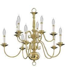 quorum 6171 10 2 signature 10 light 25 inch polished brass chandelier ceiling light