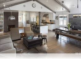 Open Plan Kitchen Living Room Layouts Custom Open Plan Kitchen Open Concept Living Room Dining Room And Kitchen