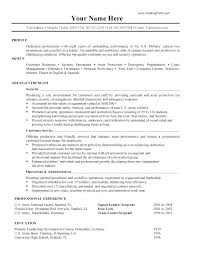 Military Civilian Resume Template Military Veteran Resume Military