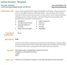 First Job Cv Example First Cv Magdalene Project Org