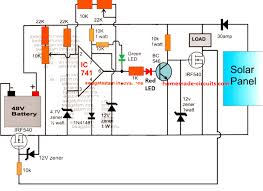 48v solar battery charger circuit with 30 Volt Solar Wiring Diagram Solar Light Wiring Diagram