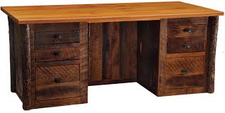 rustic office desks rustic desks office furniture baybrin rustic brown home office small