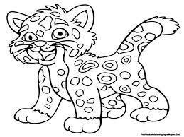 Small Picture Jaguar Coloring Pages Free Printable Kids Coloring Pages