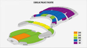 Fresh Cadillac Palace Seating Chart Michaelkorsph Me