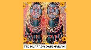 Ttd Nijapada Darshanam Seva Tickets Online Booking Timings