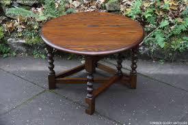 a wood brothers old charm light oak coffee drop leaf table