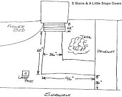 example sketch of ramp plan