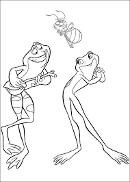 Small Picture Kids n funcom 37 coloring pages of Princess and the Frog
