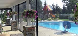 retractable screen patio. Retractable Screen - Poolside Patio ,