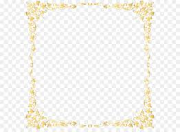 gold frame border png. Gold Frame Clip Art - Decorative Transparent Border PNG Image Png