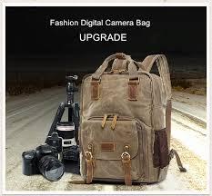 Batik Canvas Digital SLR Photo Backpack Durable Photographer ...
