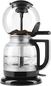 We want to make it easy for you to love your new kitchenaid® product, right out of the box. Amazon Com Kitchenaid Siphon Coffee Brewer Medallion Silver Kitchen Dining