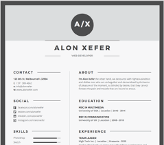 Contemporary Resume Templates Cool 28 Free Microsoft Word Resume Templates That'll Land You The Job