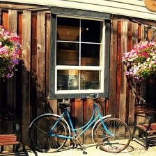 Small Picture Rustic Old Vintage Bike in front of distressed building and