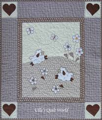 Ulla's Quilt World: Sheep quilts - baby blanket and pillowcase & The link to the original:  https://www.facebook.com/105413129530253/photos/a.105427502862149.9186.105413129530253/269104356494462/?type=1 Adamdwight.com