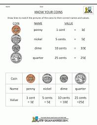 Worksheets for 1 st grade unorthodox photoshot money printable ...