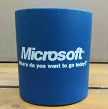 Microsoft Office Meeting Details About Vintage Coolie Pop Soda Beer Can Koozie Microsoft Office Meeting Blue Coozie A2