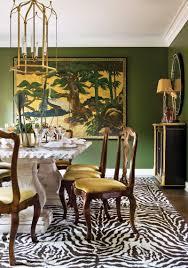 Home Interiors:Minimalist Living Room With Round Zebra Rug Decor Idea  Beautiful Wall Art Painting