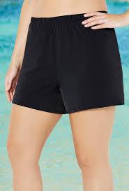 Black Loose Short