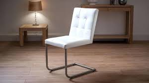 white leather dining chairs uk quilted real leather dining chairs in white white leather dining room