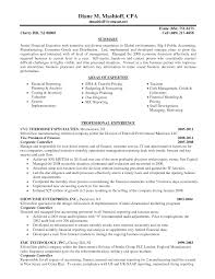 Ideas Collection Big 4 Resume Sample On Proposal