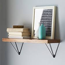 wall shelf brackets. WGX Shelf BracketsWallDisplay Hung Bracket DIY Gold Intended Wall Brackets