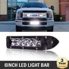 Ford Light Bar Details About 6 Led Light Bar W Brackets Fit Toyota Ford F150 F250 F350 Atv Polaris Rzr