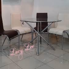 Jual Informa Dining Table Set Meja Makan 4 Kursi  Lucy Lee  Tokopedia