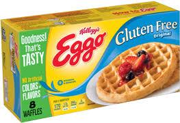 kellogg s eggo gluten free waffles original