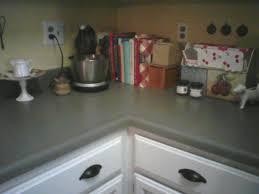 Kitchen Counter Top Paint Apartment On A Budget Countertop Paint Diy Concrete Counters