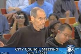 presentation mr jobs told council members apple is the largest taxpayer in cupertino and they apple cupertino office