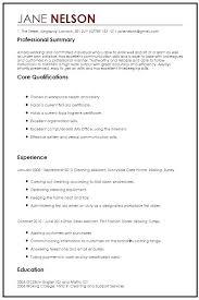 Word Resume Templates Noxdefense Com