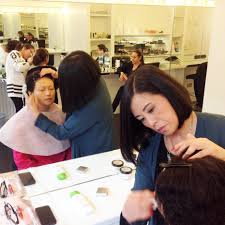 the london of makeup hosts dfs beauty s staff