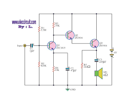 transistor amplifier circuit diagram ireleast info transistor amplifier circuit diagram the wiring diagram wiring circuit