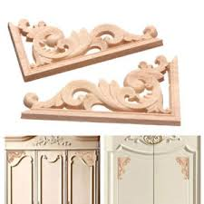 wood furniture appliques. Image Is Loading Wooden-Wood-Carved-Corner-Onlay-Applique-Frame-Decor- Wood Furniture Appliques I